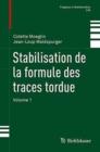 Image for Stabilisation de la formule des traces tordue