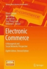 Image for Electronic commerce  : a managerial and social networks perspective