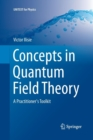 Image for Concepts in Quantum Field Theory : A Practitioner's Toolkit
