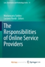 Image for The Responsibilities of Online Service Providers