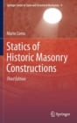 Image for Statics of historic masonry constructions