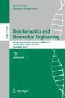 Image for Bioinformatics and biomedical engineering  : 5th International Conference, IWBBIO 2016, Granada, Spain, April 26-28, 2017, proceedingsPart II