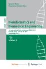 Image for Bioinformatics and Biomedical Engineering : 5th International Work-Conference, IWBBIO 2017, Granada, Spain, April 26-28, 2017, Proceedings, Part II
