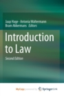 Image for Introduction to Law