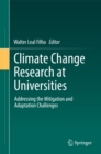 Image for Climate Change Research at Universities: Addressing the Mitigation and Adaptation Challenges