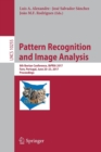 Image for Pattern recognition and image analysis  : 8th Iberian Conference, IbPRIA 2017, Faro, Portugal, June 20-23, 2017, proceedings.