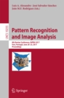 Image for Pattern recognition and image analysis: 8th Iberian Conference, IbPRIA 2017, Faro, Portugal, June 20-23, 2017, proceedings : 10255