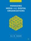 Image for Managing media and digital organizations