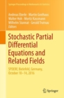 Image for Stochastic partial differential equations and related fields: in honor of Michael Rockner SPDERF, Bielefeld, Germany, October 10 -14, 2016 : volume 229