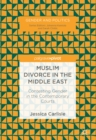 Image for Muslim divorce in the Middle East: contesting gender in the contemporary courts