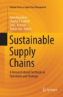Image for Sustainable Supply Chains : A Research-Based Textbook on Operations and Strategy