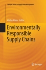 Image for Environmentally Responsible Supply Chains