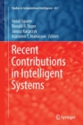 Image for Recent Contributions in Intelligent Systems