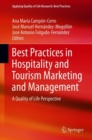 Image for Best practices in hospitality and tourism marketing and management: a quality of life perspective