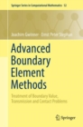 Image for Advanced boundary element methods: treatment of boundary value, transmission and contact problems : volume 52
