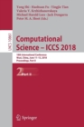 Image for Computational Science - ICCS 2018 : 18th International Conference, Wuxi, China, June 11-13, 2018, Proceedings, Part II