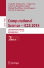Image for Computational Science - ICCS 2018: 18th International Conference, Wuxi, China, June 11-13, 2018, Proceedings, Part II : 10861