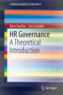 Image for HR governance: a theoretical introduction