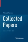 Image for Collected Papers : Volume 1: 1921-1934
