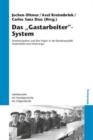 """Image for Das """"gastarbeiter""""-System : Arbeitsmigration Und Ihre Folgen in Der Bundesrepublik Deutschland Und Westeuropa"""