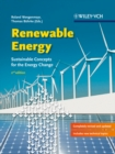 Image for Renewable energy  : sustainable concepts for the energy change
