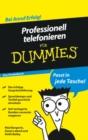 Image for Professionell telefonieren fur Dummies Das Pocketbuch