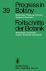 Image for Progress in Botany / Fortschritte Der Botanik : Morphology Physiology Genetics Taxonomy Geobotany / Morphologie Physiologie Genetik Systematik Geobotanik