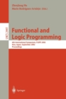 Image for Functional and Logic Programming : 6th International Symposium, FLOPS 2002, Aizu, Japan, September 15-17, 2002. Proceedings