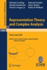 Image for Representation Theory and Complex Analysis : Lectures given at the C.I.M.E. Summer School held in Venice, Italy, June 10-17, 2004