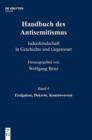 Image for Handbuch Des Antisemitismus, Band 4, Ereignisse, Dekrete, Kontroversen
