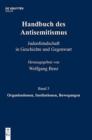 Image for Handbuch Des Antisemitismus, Band 5, Organisationen, Institutionen, Bewegungen