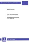 Image for Der Intonationstest : Seine Anfaenge, seine Ziele, seine Methodik