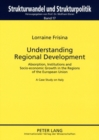 Image for Understanding Regional Development : Absorption, Institutions and Socio-economic Growth in the Regions of the European Union- A Case Study on Italy