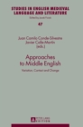 Image for Approaches to Middle English  : variation, contact and change