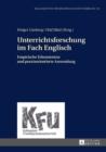 Image for Unterrichtsforschung im Fach Englisch: Empirische Erkenntnisse und praxisorientierte Anwendung : 58