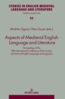 Image for Aspects of Medieval English Language and Literature : Proceedings of the Fifth International Conference of the Society of Historical English Language and Linguistics