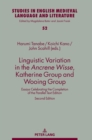 Image for Linguistic Variation in the Ancrene Wisse, Katherine Group and Wooing Group : Essays Celebrating the Completion of the Parallel Text Edition