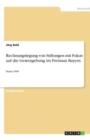 Image for Rechnungslegung von Stiftungen mit Fokus auf die Gesetzgebung im Freistaat Bayern : Stand 1999