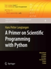 Image for A primer on scientific programming with Python : 6