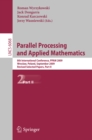 Image for Parallel Processing and Applied Mathematics, Part II: 8th International Conference, PPAM 2009, Wroclaw, Poland, September 13-16, 2009, Proceedings : 6068