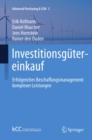 Image for Investitionsgutereinkauf: Erfolgreiches Beschaffungsmanagement Komplexer Leistungen : 2