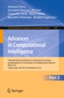 Image for Advances in Computational Intelligence, Part III: 14th International Conference on Information Processing and Management of Uncertainty in Knowledge-Based Systems, IPMU 2012, Catania, Italy, July 9 - 13, 2012. Proceedings, Part III : 299