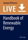 Image for Handbook of Renewable Energy