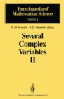 Image for Several Complex Variables II: Function Theory in Classical Domains Complex Potential Theory : 8
