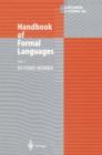 Image for Handbook of Formal Languages: Volume 3 Beyond Words