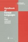 Image for Handbook of Formal Languages : Volume 1 Word, Language, Grammar