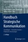 Image for Handbuch Strategische Kommunikation: Grundlagen - Innovative Ansatze - Praktische Umsetzungen