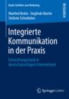 Image for Integrierte Kommunikation in der Praxis: Entwicklungsstand in deutschsprachigen Unternehmen : 32