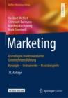 Image for Marketing : Grundlagen marktorientierter Unternehmensfuhrung Konzepte - Instrumente - Praxisbeispiele