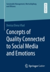 Image for Concepts of Quality Connected to Social Media and Emotions